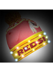Redskins Light Up Knit Hat