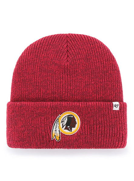 '47 Brand Redskins Team Logo Cuff Knit Hat