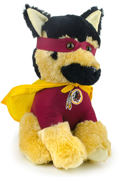 Redskins Plush Super Hero Dog