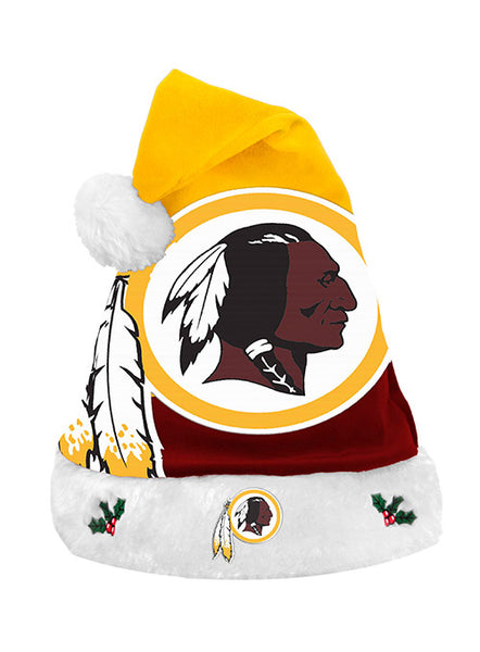 Redskins Santa Hat