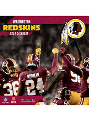 Redskins 2018/19 Team Wall Calendar