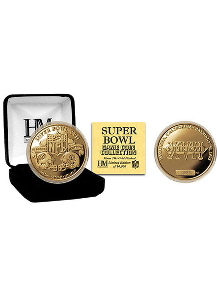 Super Bowl XVII Flip Coin