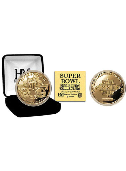 Super Bowl XXII Flip Coin
