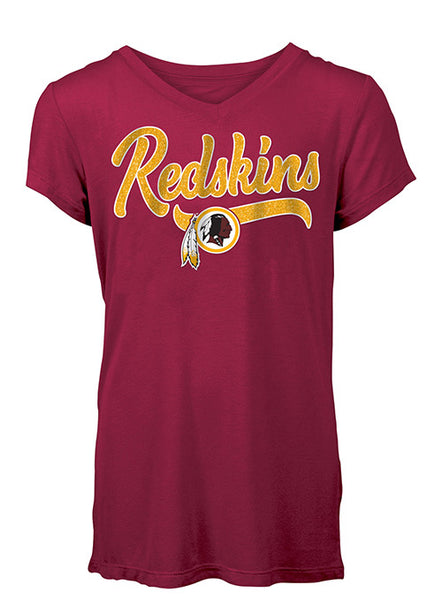 Girls Redskins Rayon T-Shirt