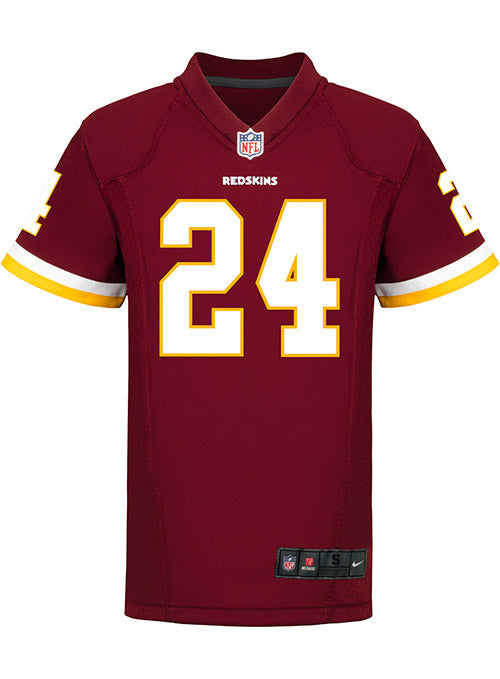 05796f098 Youth Nike Game Home Josh Norman Jersey