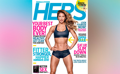 GLAMOUR NUTRITION IN MUSCLE & FITNESS: HERS