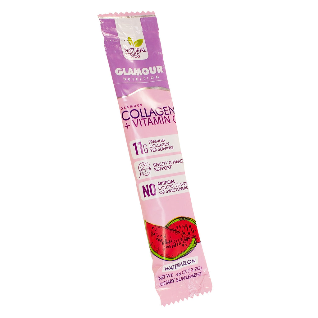 Natural Series Collagen Individual Stick Pack - Watermelon