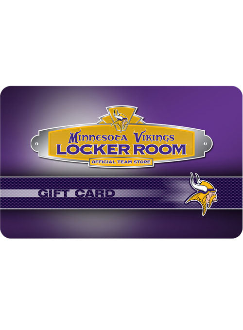 Vikings Locker Room Gift Card