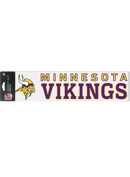 4 X 17 Die Cut Vikings Decal