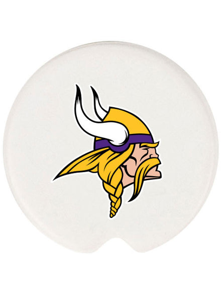 Ceramic Vikings Car Coasters