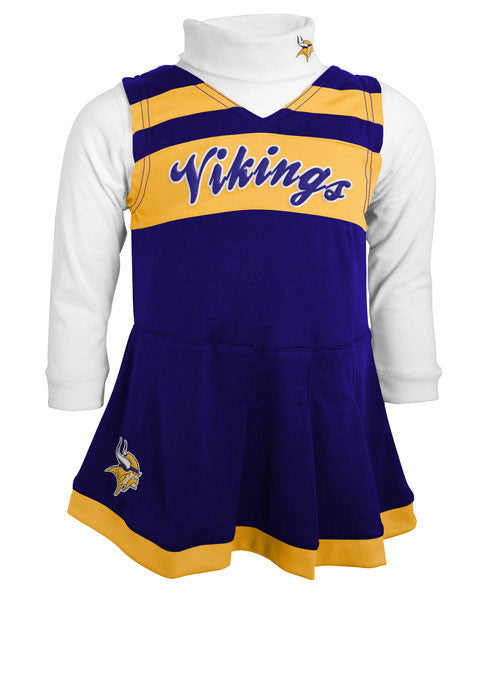 Infant Vikings Cheer Outfit