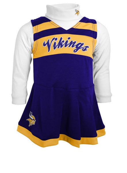 Toddler Vikings Cheerleader Jumper
