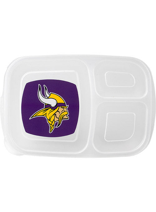 Vikings 3-Part Lunch Container