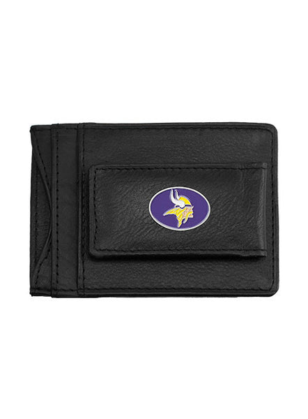 Vikings Leather Cash and Card Holder