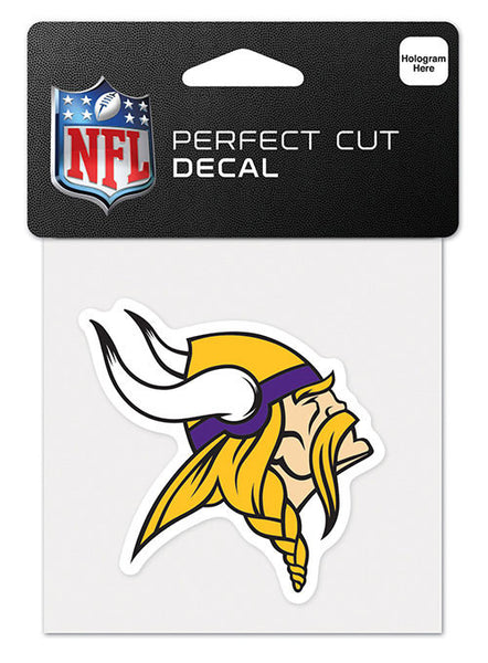 Vikings 4'' x 4'' Logo Decal