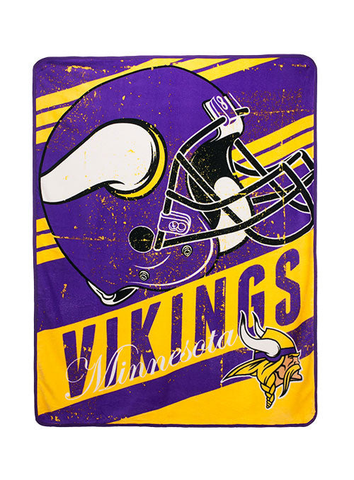 "Vikings 46"" x 60"" Micro Raschel Throw"