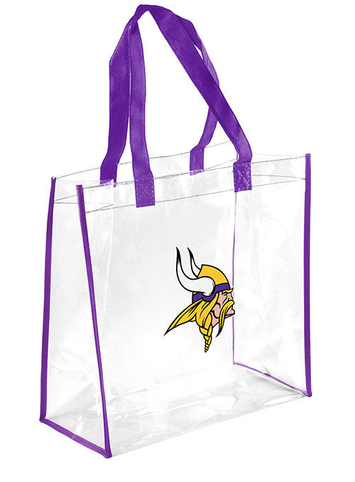 Vikings Clear Tote Bag