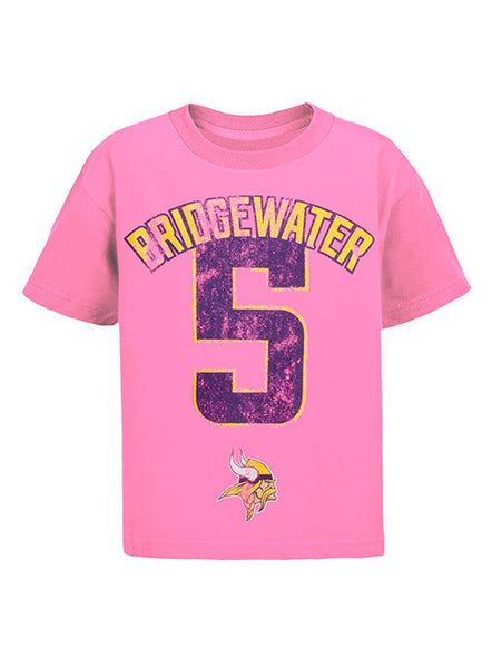 new concept fec89 138ba Toddler Teddy Bridgewater My Crush T-Shirt | Sale Youth Merchandise |  Vikings Locker Room