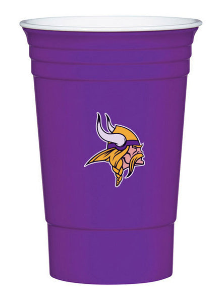 Vikings 18 oz. Game Day Cups (18 Pack)
