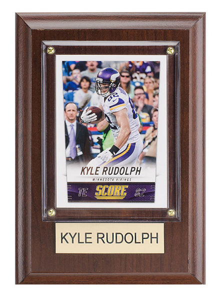 Minnesota Vikings Kyle Rudolph Plaque