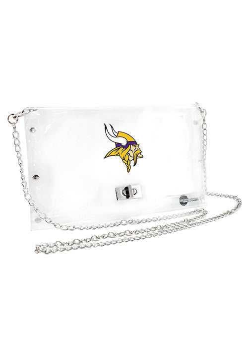 Vikings Clear Envelope Purse