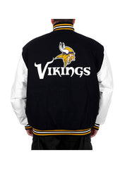 Vikings Wool & Leather Jacket