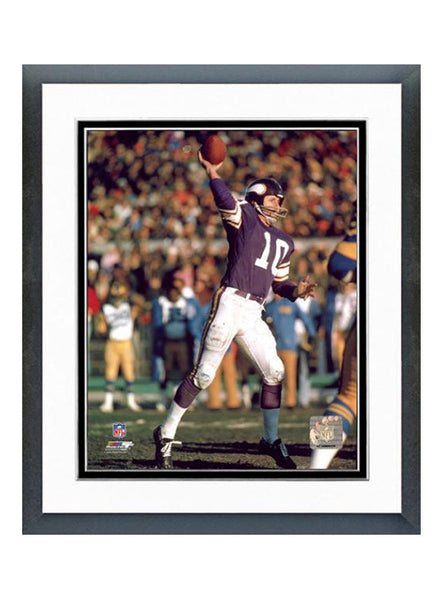Vikings 16'' x 20'' Framed Fran Tarkenton  Photo