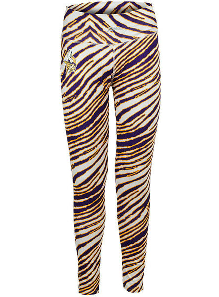 Ladies Vikings Zubaz Leggings