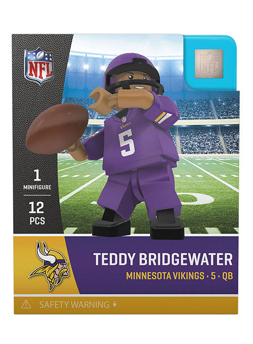 aa53eadd Vikings Teddy Bridgewater OYO Mini Figurine | Sale Novelties | Vikings  Locker Room