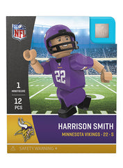 Vikings Harrison Smith OYO Mini Figurine