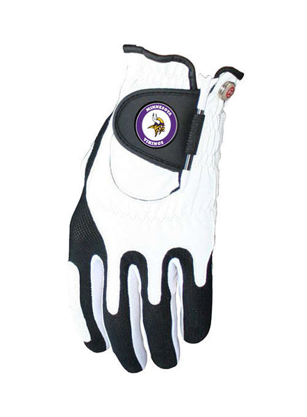 Vikings Golf Glove and Ball Marker Set