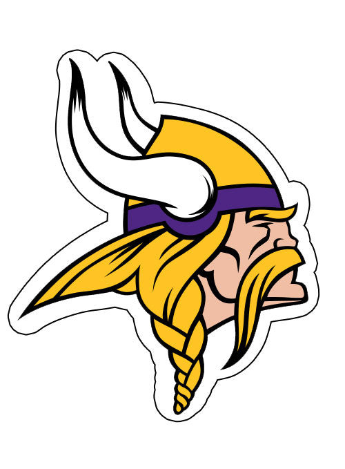 High Definition Vikings Magnet