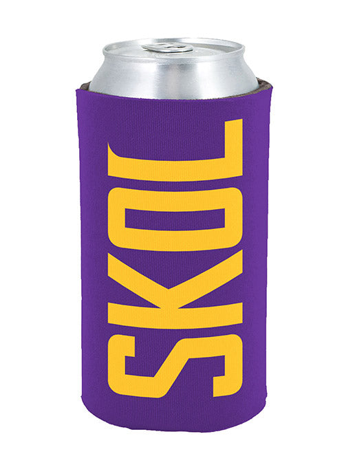 Vikings SKOL 16 oz. Collapsible Can Coozie
