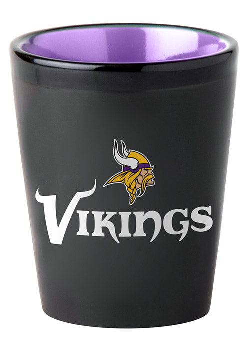Vikings 2 oz.  Matte Shot Glass