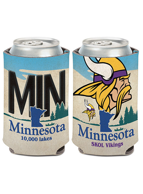 Vikings License Plate Can Cooler