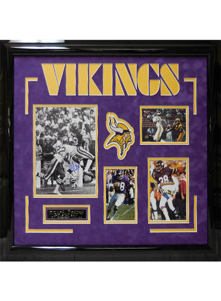 Vikings Chuck Foreman Framed Autographed Photo