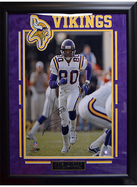 Vikings Cris Carter Framed Autographed Photo