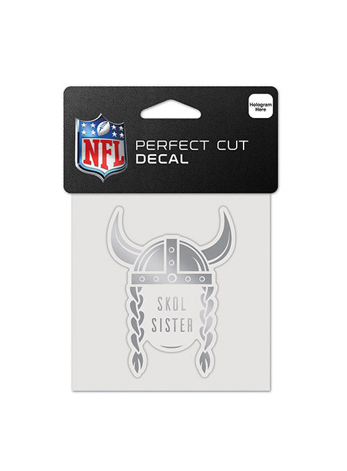 Vikings 4 x 4 SKOL Sister Decal