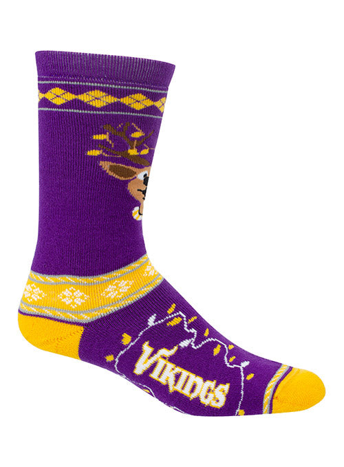 Vikings Ladies Sweater Stripe Socks