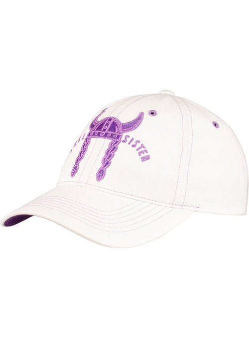 Vikings Ladies White SKOL Sister Hat