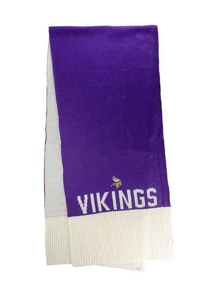 Ladies Vikings Tailgate Knit Scarf