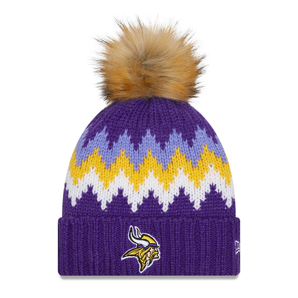 Vikings Ladies New Era Glacier Knit