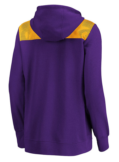Ladies Full-Zip Athena Hooded Sweatshirt