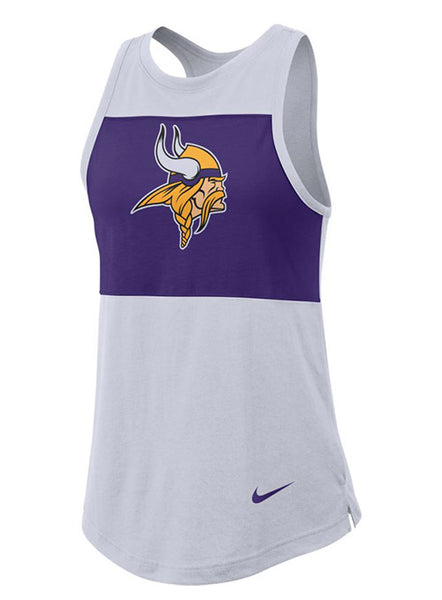 Nike Vikings Ladies Breathe Tank