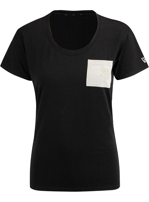 Ladies New Era Tonal Pocket T-Shirt