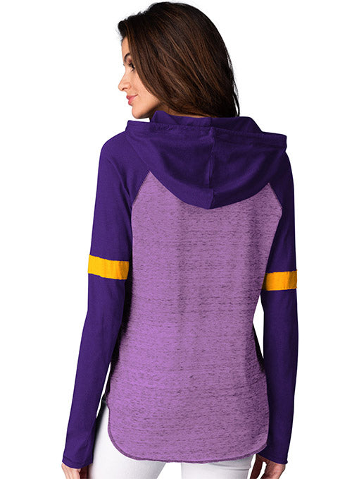 Ladies GIII Long Sleeve Hooded T-Shirt
