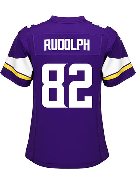 buy online e182b 4ec4d Ladies Nike Game Home Kyle Rudolph Jersey | Vikings Game Jerseys | Vikings  Locker Room