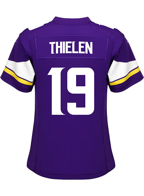 Ladies Minnesota Vikings Adam Thielen Nike Purple Game Jersey