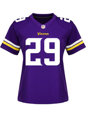 Ladies Minnesota Vikings Xavier Rhodes Nike Purple Game Jersey