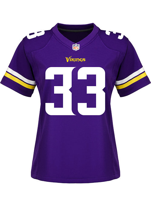 new style 4a763 77de8 Ladies Minnesota Vikings Dalvin Cook Nike Purple Game Jersey | Women's  Vikings Jerseys | Vikings Locker Room